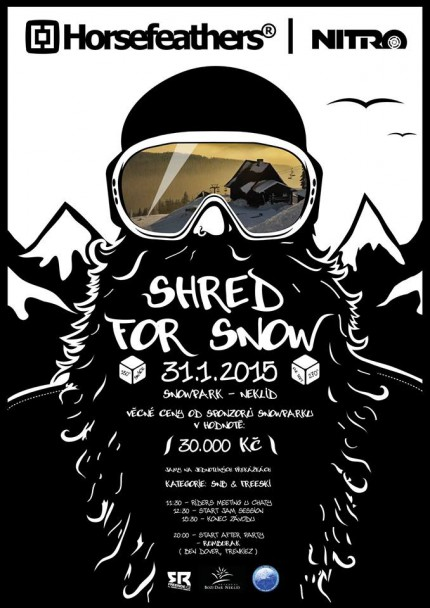 Shred For Snow - Jam Session Snowpark Neklid