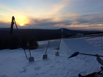 Snowpark Neklid 29.1.2016